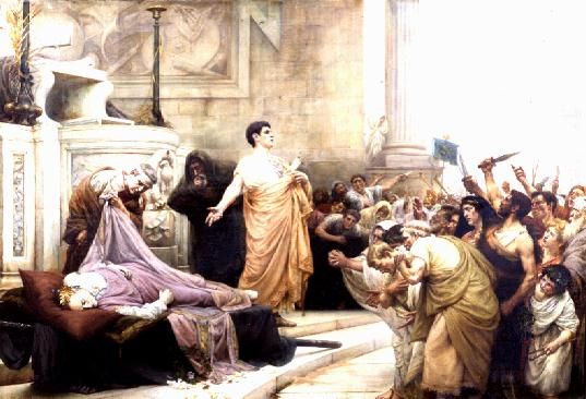 a brief biography and history of julius caesar Biography of william the individual decisions and actions of great men are responsible for shaping history in julius caesar julius caesar.